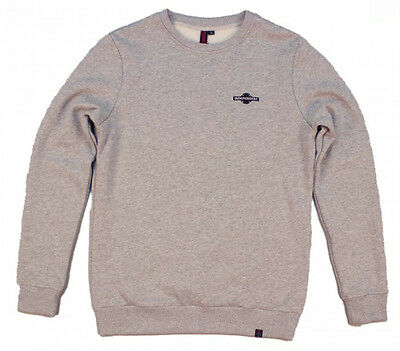 INDEPENDENT - Toil Crew Jumper Heather Grey - NEW - SMALL ONLY