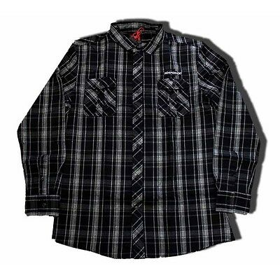 INDEPENDENT - Toil Longsleeve Shirt Carbon - NEW - LARGE ONLY
