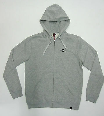 INDEPENDENT - Toil Zip Hood Grey Heather - NEW - SMALL ONLY