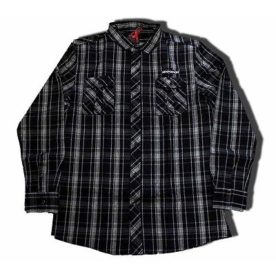 INDEPENDENT - Toil Longsleeve Shirt Carbon - NEW - SMALL ONLY
