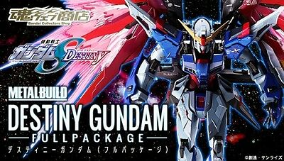 Bandai Limited Metal Build Destiny Gundam Seed Destiny Full Package Japan Import