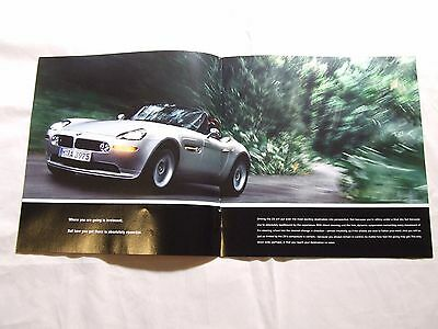 Bmw Z8  Brochure 1999 10 Pages