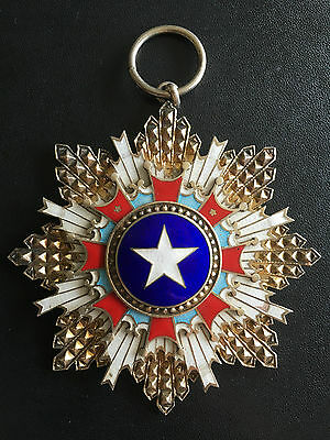 China 1941 Order Of Brilliant Star Medal 2Nd Class 二等景星勋章