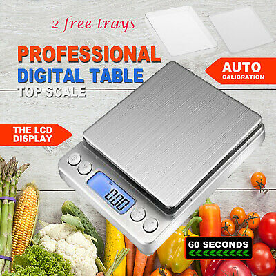 0.01-500g Mini Digital Precision Electronic Pocket Scale Weight Kitchen Scale AU