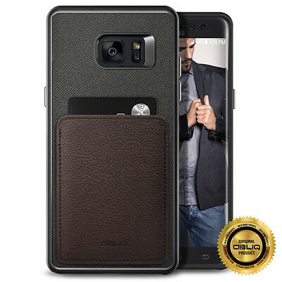 For Galaxy Note FE Case OBLIQ Flex Wallet Case ID /Credit Card Holder Leather