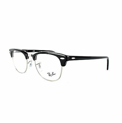 Ray-Ban Brillengestell 5154 Clubmaster 2000 Shiny Black
