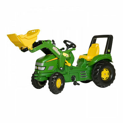 Rolly Toys X-TRAC John Deere XL Ride on Pedal Tractor & Green Loader Ages 3-10