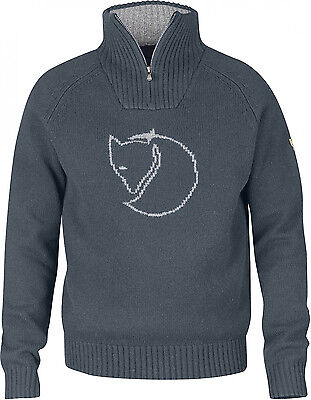 Fjallraven Red Fox Sweater - Colour: Graphite - Various Sizes Available