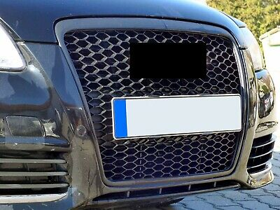 Audi A6 4F Facelift Badgeless Mesh Grill Debadged Sport Front-Grill S Line RS