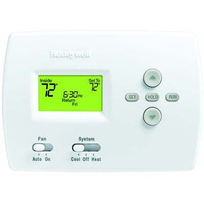 Honeywell Programmable 5-2 Day Thermostat For Heat/Cool Or Heat Pump Without Aux