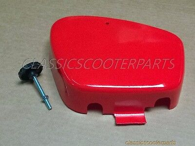 Honda CT 90 CT90 RED battery cover panel with knob H2188