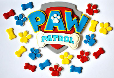Paw Patrol Cake Toppers Set - Choose Your Size...  Awesome!!