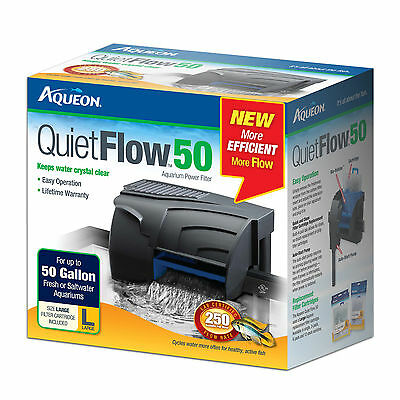 Aqueon QuietFlow Power Filter 50