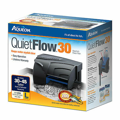 Aqueon QuietFlow Power Filter 30