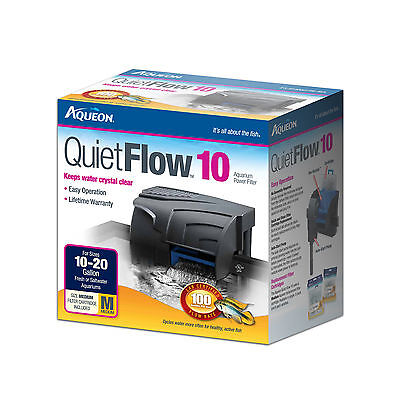 Aqueon QuietFlow Power Filter 10