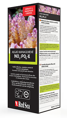 Red Sea NO3:PO4-X - Nitrate/Phosphate Reducer - 500 ml