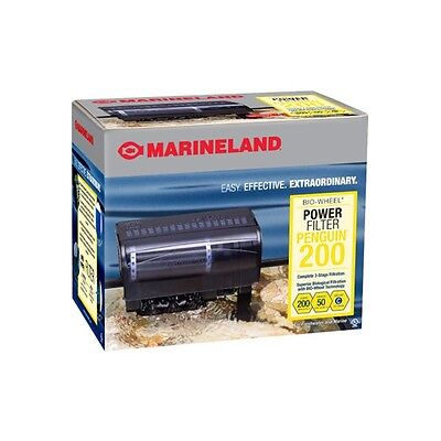 Marineland Power Filter Penguin 200 up to 50gal