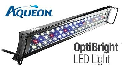 Aqueon OptiBright LED Light Fixture - 48-54 inch
