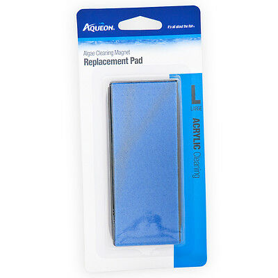 Aqueon Algae Cleaning Magnet Replacement Pad Acrylic - Large