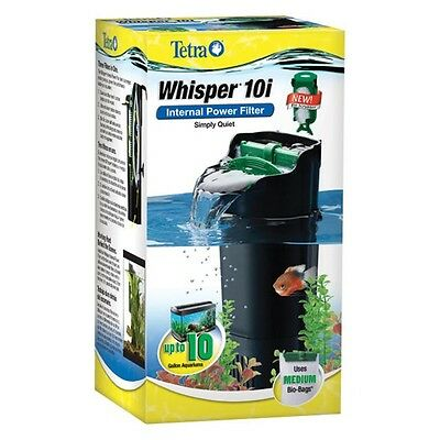 Tetra Whisper 10i Internal Power Filter with Bio-Scrubber up to 10 gal