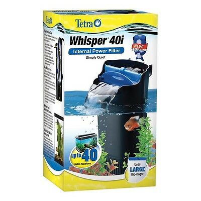 Tetra Whisper 40i Internal Power Filter with Bio-Scrubber up to 40 gal