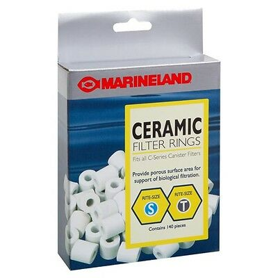 Marineland Ceramic Filter Rings for Canister Filters Rite-Size S & T - 140 pc