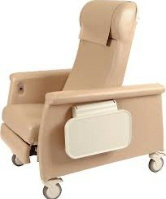 NEW: Winco [6900-03] Elite CareCliner w/ Dual Side Trays (Taupe Color) - $899.95