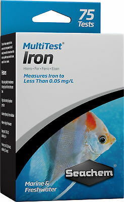 Seachem MultiTest - Iron Test Kit
