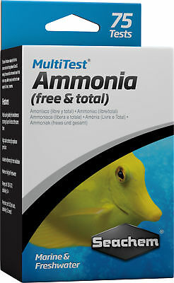 Seachem MultiTest - Ammonia Test Kit