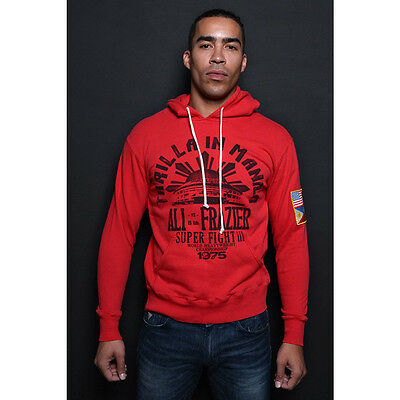 Roots of Fight Thrilla Souvenir Pullover Hoodie - Red