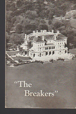 The Breakers An Illustrated Handbook 1952 Newport Rhode Island Booklet