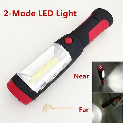 LED Hook Light Flashlight Work Lamp with Magnet and 2 Light Modes Camping Hiking