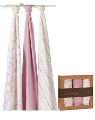 """aden + anais """"Tranquility"""" Bamboo Swaddle 3Pack"""