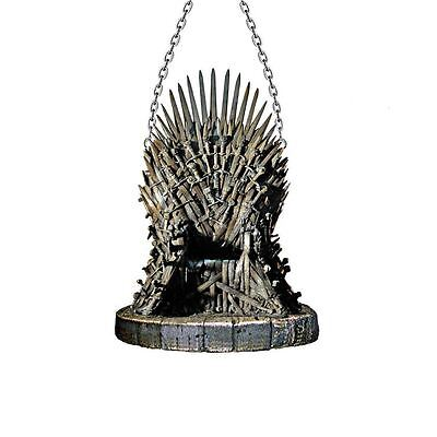 """GAME OF THRONES HOUSE Iron Throne Christmas Ornament, 4.25"""" Tall, by Kurt Adler"""