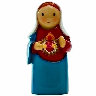 "Immaculate Heart of Mary ""Little Drops Of Water"" Statue Figure NEW Catholic"