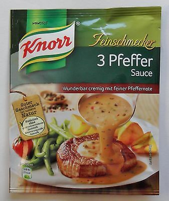 5x Knorr Feinschmecker - 3 Pepper Sauce