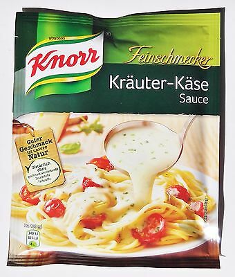 5x Knorr Feinschmecker - herb-cheese Sauce