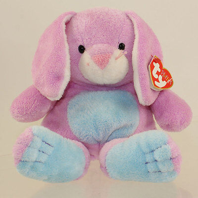 TY Pluffies - TWITCHY the Bunny (10.5 inch) *NM*
