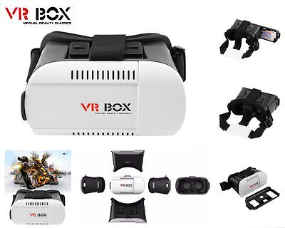 3D Virtual Reality Brille Video Film f. iPhone Android VR Box Google Cardboard
