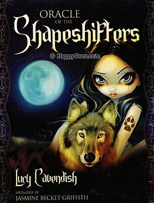 """""""oracle Of The Shapeshifters"""" By Lucy Cavendish (Oracle Cards)"""