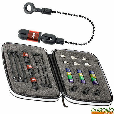 JRC Kurve Indicator System Set of 3 In Case Carp Fishing - NEW 2016 - 1377132