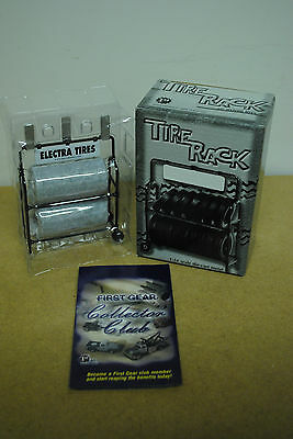"First Gear Tyre Rack ""Electra Tires"" 1/34 Scale. c2001. BNIB. For Dioramas."