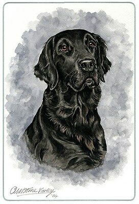 Flat Coated Retriever Cutting Board