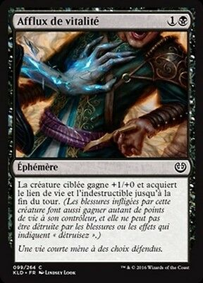 MTG Magic KLD - (x4) Rush of Vitality/Afflux de vitalité, French/VF