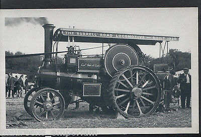 Industrial Postcard - The Burrell Road Locomotive - Traction Engine MB2500