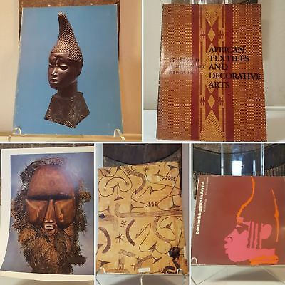 Fine African Art 4-book bundle RARE William Fagg Mask Figure Sculpture Statue