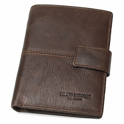 Wallets For Men Card Holder Clutch Mens Coin Purse Photo Holder Trifold Wallet