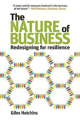 Nature of Business by Giles Hutchins (English) Paperback Book Free Shipping!