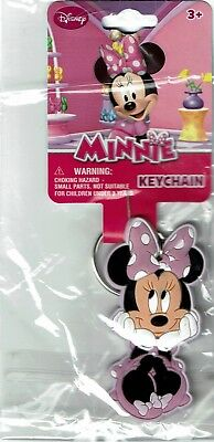 Disney Minnie Mouse Key Chain Ring Keychain Keyring 90791/195537