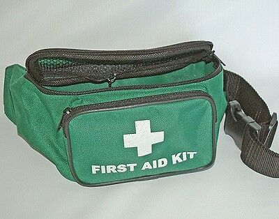 FIRST AID BUM BAG - Green - EMPTY BAG ONLY - NO CONTENTS